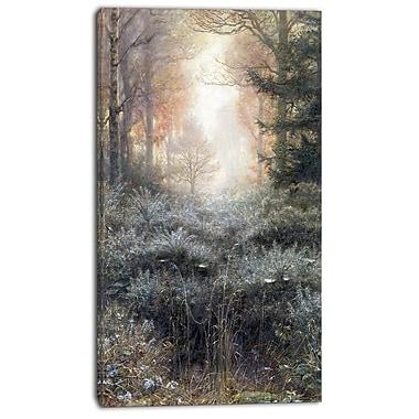 Designart – John Everett Millais, ajonc trempé par la rosée, imprimé sur toile