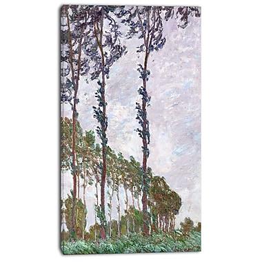Designart – Imprimé sur toile, Claude Monet, Effet de vent