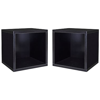 Cathay Importers – Simple cube de rangement, 13 haut. x 13,5 larg. x 11 prof. (po)