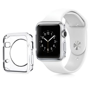Insten Clear Transparent Ultra Thin Protective TPU Rubber Gel Bumper Case For Apple Watch