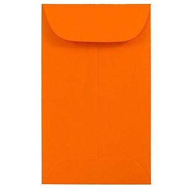 JAM PaperMD – Enveloppes à monnaie no 3, papier recyclé, 2,5 x 4,25 po, 500/paquet