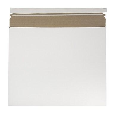 JAM PaperMD – Enveloppes d'expédition extensibles pour photos, blanc, 6/paquet