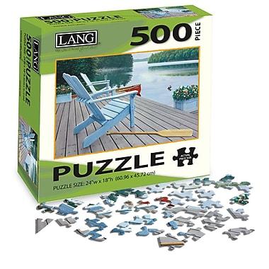LANG Jigsaw Puzzles, 500-Piece Sets