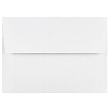 JAM PaperMD – Enveloppes d'invitations de format A6, 4,75 x 6,5 po, blanc