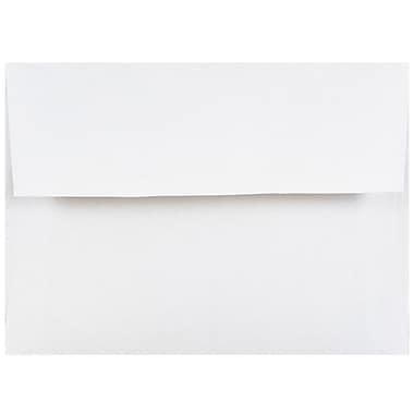 JAM PaperMD – Enveloppes d'invitations de format A2, 4 3/8 x 5 3/4 po, blanc