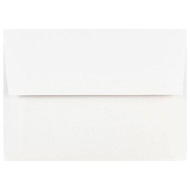 JAM PaperMD – Enveloppes d'invitations de format A7, 5,25 x 7,25 po, blanc