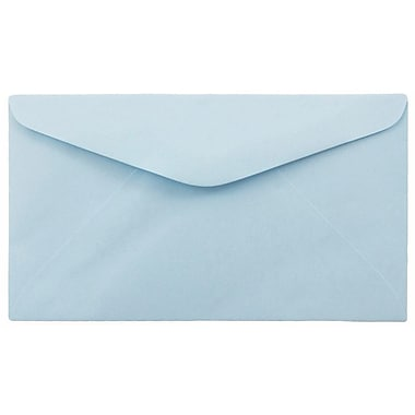 JAM PaperMD – Enveloppes commerciales no 6 3/4, 3 5/8 x 6 1/2 po, bleu pâle