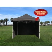 Impact Canopies Instant Pop Up Canopy Tents with Walls & Awning, 10x10