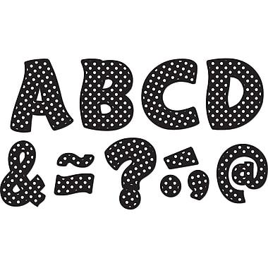 Teacher Created Resources Black Polka Dots Fantastic Font 3