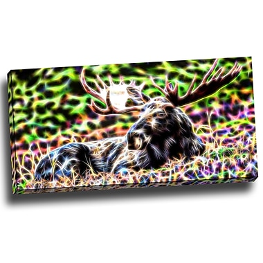 Designart – Imprimé d'animaux sur toile, abstrait, orignal