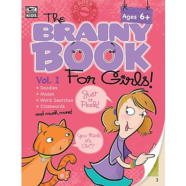 eBook: Thinking Kids 704546-EB Brainy Book for Girls
