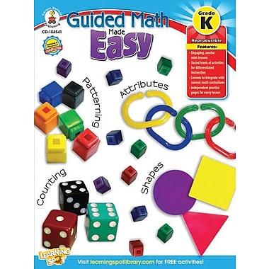 Livre numérique : Carson-Dellosa – Guided Math Made Easy 104541-EB