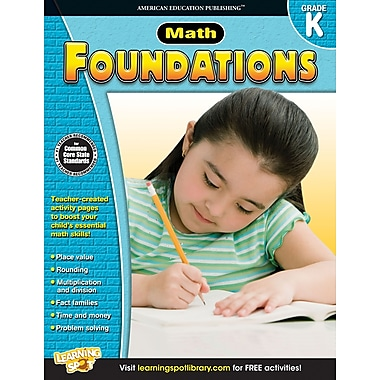 eBook: American Education Publishing 704275-EB Math Foundations
