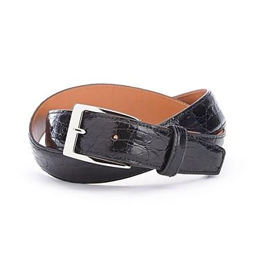Royce Luxury Genuine Crocodile Skin Belt Handcrafted in USA