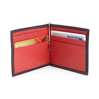 Royce RFID Blocking Money Clip Credit Card Wallet in Genuine Leather