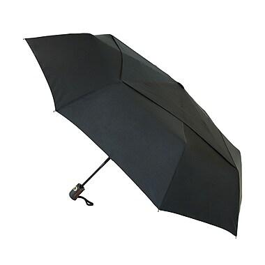 Natico – Parapluie aéré Director, arc de 46 po, noir (60-115-BK)