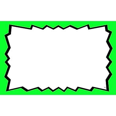 Pancarte vierge, 5,5 x 7 po, 100/paquet