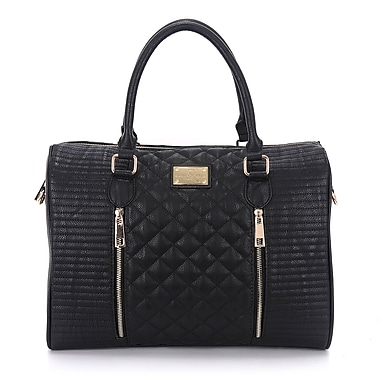 Sandy Lisa Siena Quilted Tote Bag, Fits up to 14.1