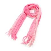 Toujours Elegant Shirred Scarf, Pink