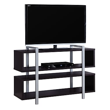 Monarch I 7182 Bookcase/TV Stand, 48