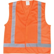 Zenith Safety Products CSA Compliant Traffic Safety Vest, High Visibility Orange