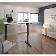 Bestar – Table motorisée à hauteur réglable, 24 po x 48 po, blanc (65857-17)