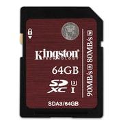 Kingston SDXC Class 10 UHS-I 45R Flash Cards
