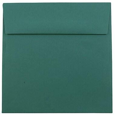 JAM PaperMD – Enveloppes carrées, 6,5 x 6,5 po, bleu sarcelle