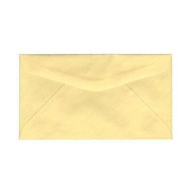 JAM PaperMD – Enveloppes commerciales no 6 3/4, 3 5/8 x 6 1/2 po, jaune canari