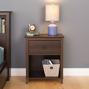 Prepac Yaletown 1-Drawer Tall Nightstands