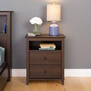 Prepac Yaletown 2-Drawer Tall Nightstands
