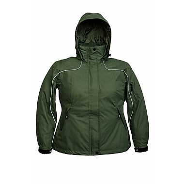 Viking Stroller Jacket, 4 Zip Pockets, Pit Zips, Martini Green