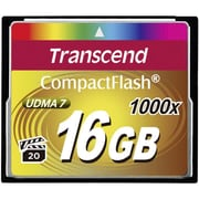 Transcend TS16GCF1000 16 GB CompactFlash Memory Card Ultimate 1000x UDMA