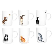 Roy Kirkham Lyric Mug, Set of 6