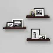 """nexxt FN00299-0INT Edge 23"""" x 4"""" Picture Frame Ledge, 3/Pack"""