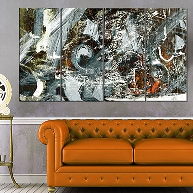 Contemporary Abstract Design Abstract Metal Wall Art