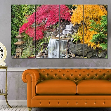Japanese Maple Trees Floral Photography Metal Wall Art