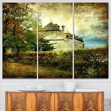 Chillion Castle Landscape Metal Wall Art
