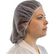 """The Safety Zone 2"""" White Fine Mesh Nylon Hairnet, 300/Pack (DNHN-21-1-RB)"""