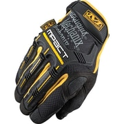 Mechanix Wear – Gants M-Pact, noir/jaune, 2 paires/paquet (MPT-51-010)