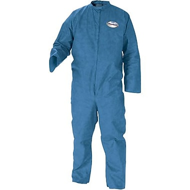 Kimberly-Clark Coveralls Kleenguard A20Blue w/Zip Elastic 12/Pack (58505)