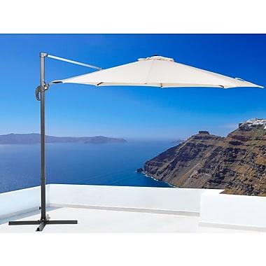 Beliani – Parasol de patio Savona décentré, 10 pi / 3 m (diam.)