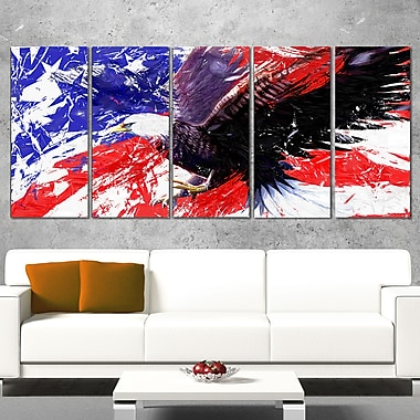 American Bald Eagle Animal Metal Wall Art