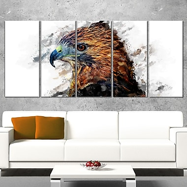 Hawk Eye Animal Metal Wall Art