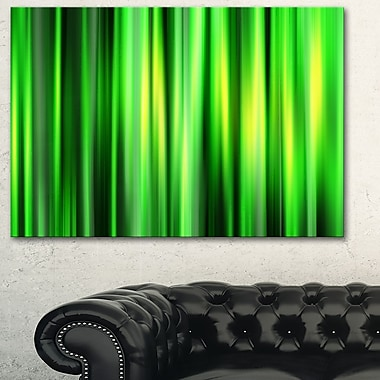 Abstract Bamboo Metal Wall Art
