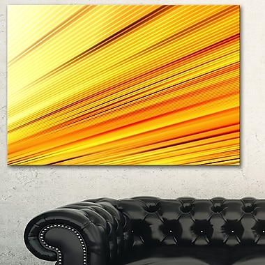 Speed of Light Metal Wall Art
