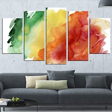 Colour Explosion Abstract Wall Art