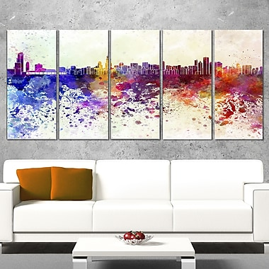 Chicago Skyline Cityscape Wall Art