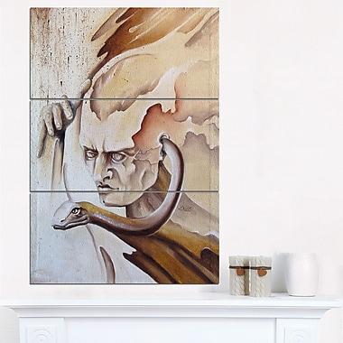 Voice Inside Abstract Digital Metal Wall Art