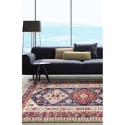 ecarpetgallery Shiravan Rugs, Cream/Navy Blue